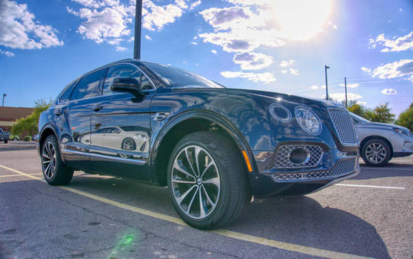 Photograph - Bentley Bentayga  by Ants Drone Photography