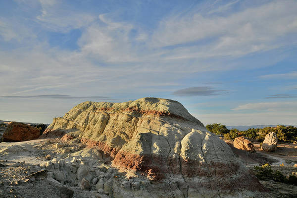 Photograph - Bentonite Clay Dune In Little Park Road Site by Ray Mathis