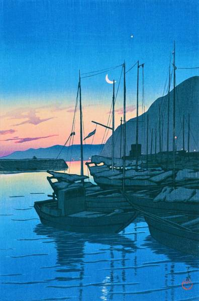 Period Wall Art - Painting - Beppu Moning - Top Quality Image Edition by Kawase Hasui