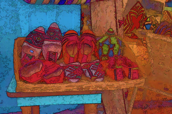Photograph - Berber Slippers by Jessica Levant
