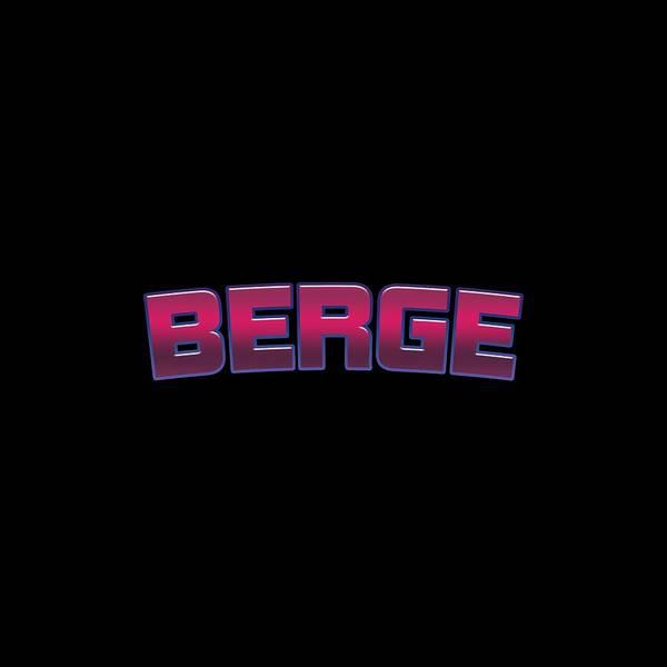 Berge Wall Art - Digital Art - Berge by Tinto Designs