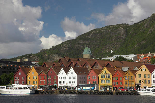 Made In Wall Art - Photograph - Bergen, Hordaland, Norway by Latitudestock - Peter Lewis
