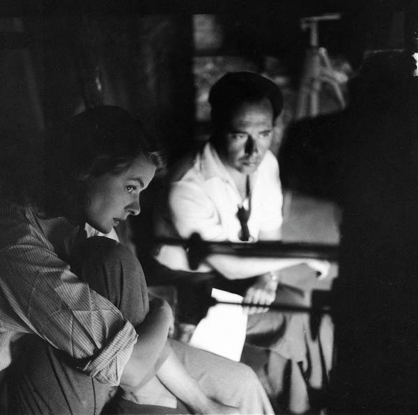 Photograph - Bergman & Rossellini In Italy For by Gordon Parks