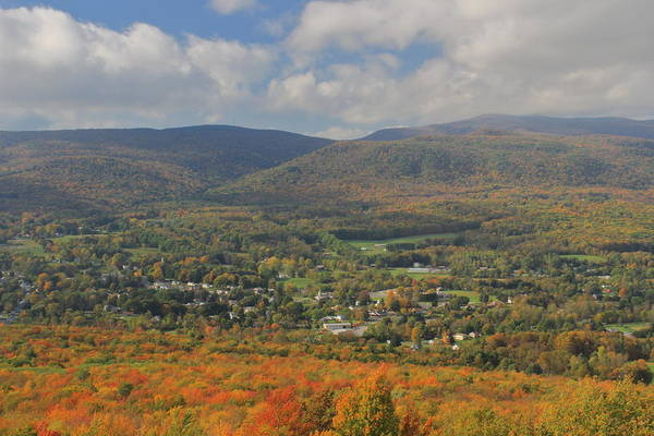 Wall Art - Photograph - Berkshires In Autumn From Cheshire Cobble by John Burk