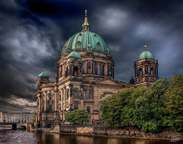 Photograph - Berlin Cathedral After The Storm by Endre Balogh