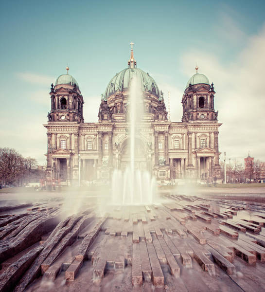 Berlin Cathedral Photograph - Berlin Cathedral Berliner Dom In Germany by Matthias Makarinus
