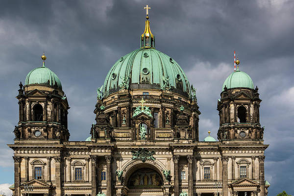 Berlin Cathedral Photograph - Berlin Catherdral Berliner Dom by Richard I'anson