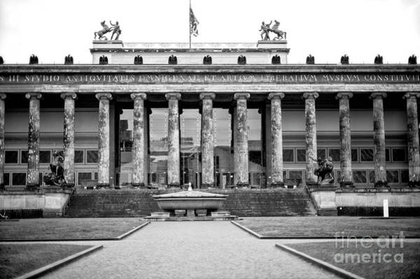 Wall Art - Photograph - Berlin Old Museum by John Rizzuto