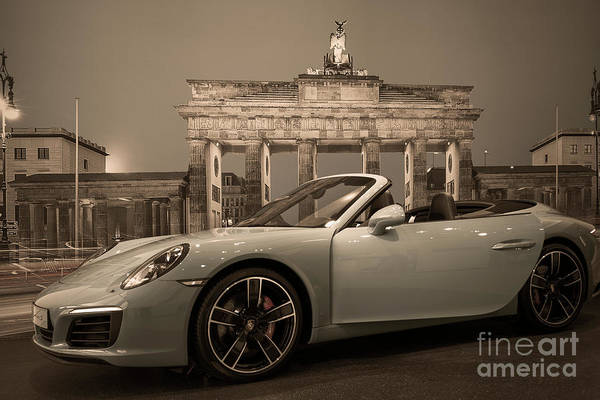 Wall Art - Photograph - Berlin - Porsche Car by Stefano Senise
