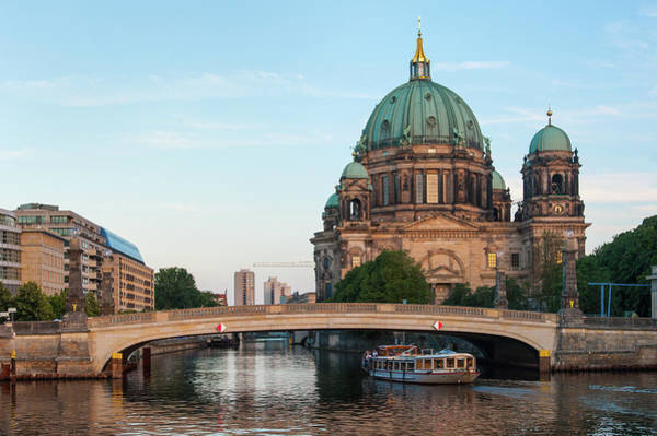 Photograph - Berliner Dom And River Spree In Berlin by Milan Ljubisavljevic
