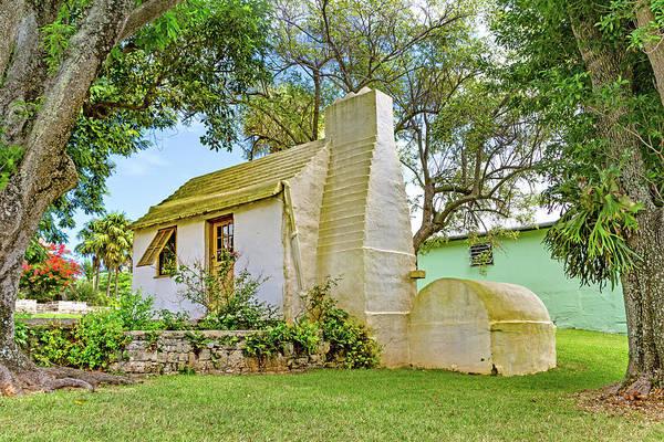 Wall Art - Photograph - Bermuda Botanical Gardens Cottage by Betsy Knapp