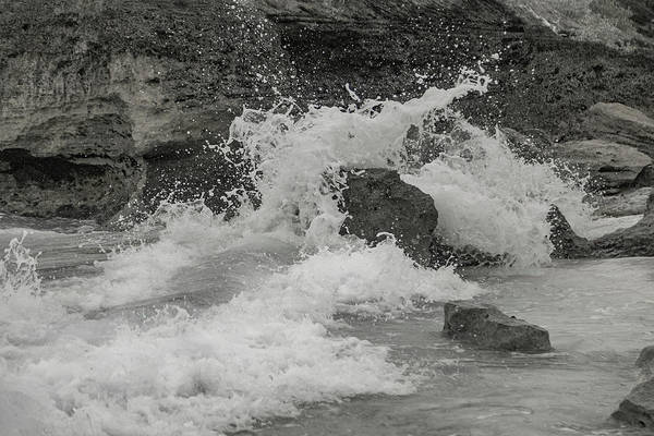 Wall Art - Photograph - Bermuda Coastal Splash  by Betsy Knapp
