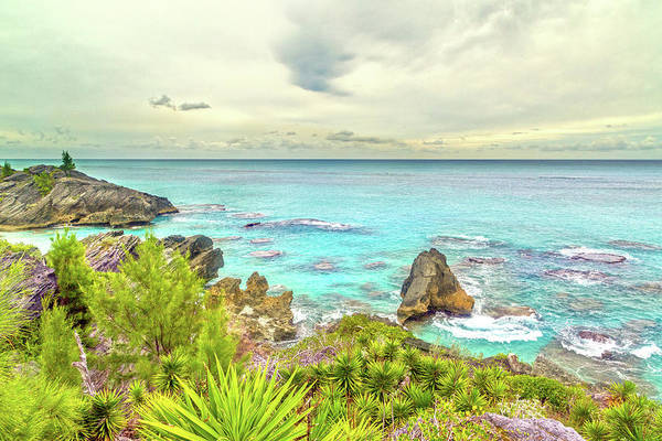 Wall Art - Photograph - Bermuda Coastline Highview  by Betsy Knapp