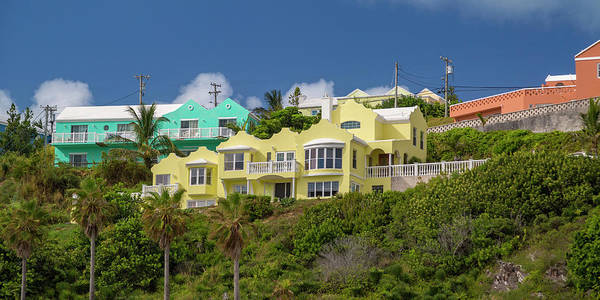 Wall Art - Photograph - Bermuda Paradise Homes by Betsy Knapp