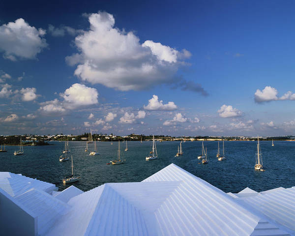 Bermuda Photograph - Bermuda, St George, Step-like Roofs Of by Connie Coleman