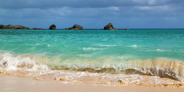 Wall Art - Photograph - Bermuda Tumbling Wave by Betsy Knapp