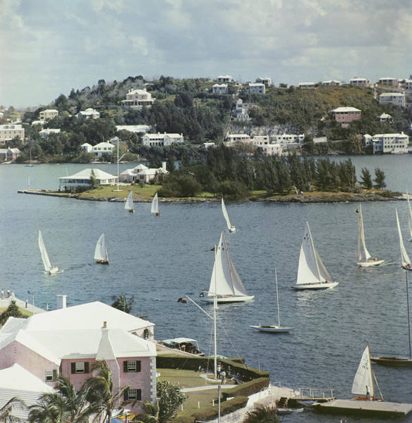 Vertical Landscape Photograph - Bermuda View by Slim Aarons
