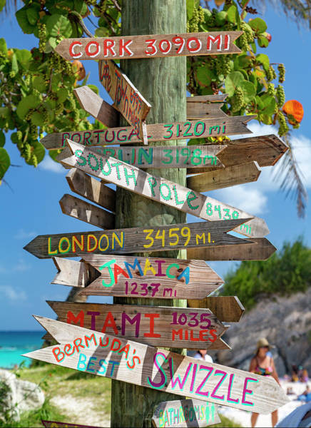 Wall Art - Photograph - Bermuda Where To Go by Betsy Knapp