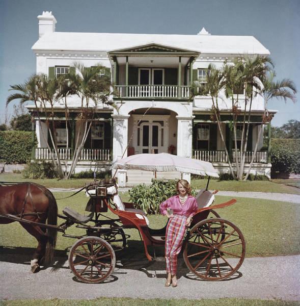 Bermuda Photograph - Bermudan Hostess by Slim Aarons