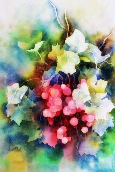 Wall Art - Painting - Berry by ArtMarketJapan