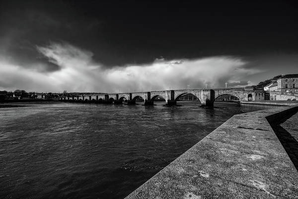 Bridge Mixed Media - Berwick Bridge by Smart Aviation