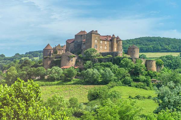 Wall Art - Photograph - Berze Castle, Burgundy, France by Jim Engelbrecht