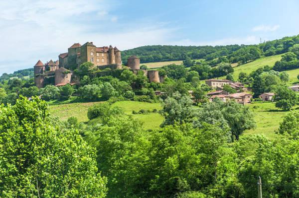 Wall Art - Photograph - Berze Castle, Burgundy, France by Lisa S. Engelbrecht