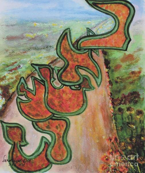 Painting - Beshert  Cc19 by Hebrewletters Sl