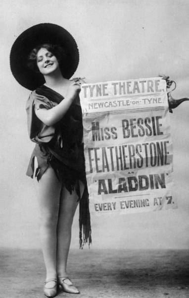 Newcastle Upon Tyne Photograph - Bessie Featherstone by Hulton Archive