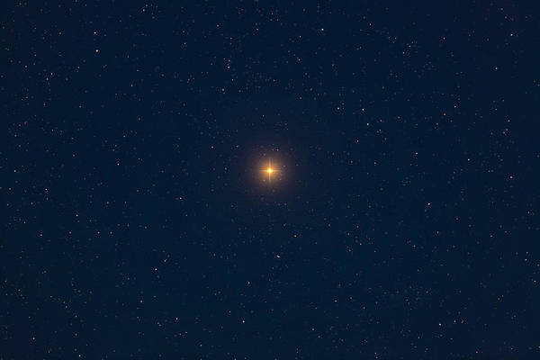 Photograph - Betelgeuse, A Red Supergiant Star by Alan Dyer