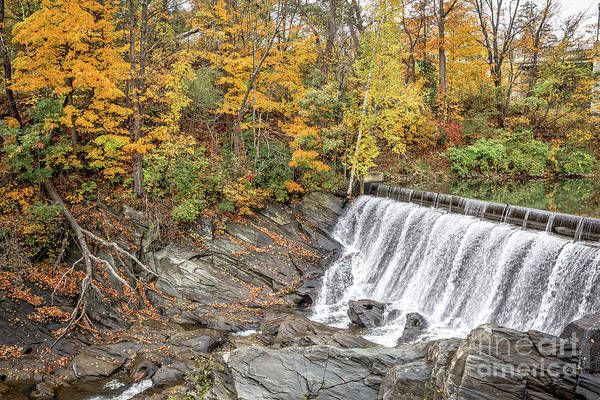Wall Art - Photograph - Bethel Falls Vermont by Edward Fielding