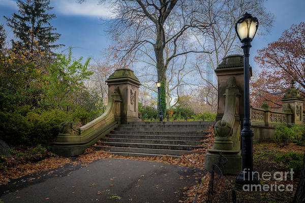 Photograph - Bethesda Stairs by Inge Johnsson