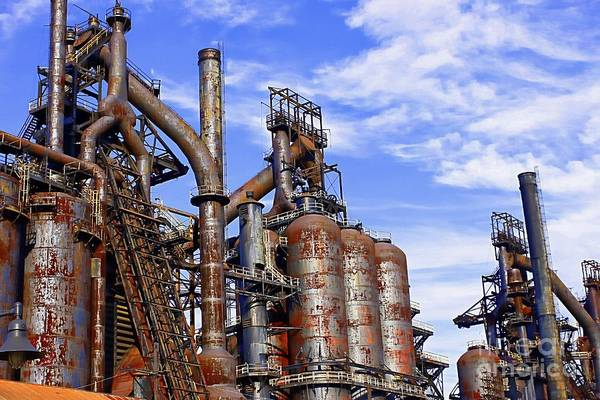 Photograph - Bethlehem Steel #19 by Marcia Lee Jones