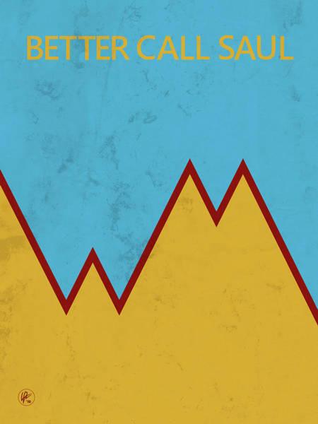 Digital Art - Better Call Saul - Wexler Mcgill Logo by Lance Vaughn