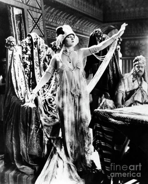 Blythe Photograph - Betty Blythe George Siegmann In The Queen Of Sheba 1921 by Sad Hill - Bizarre Los Angeles Archive