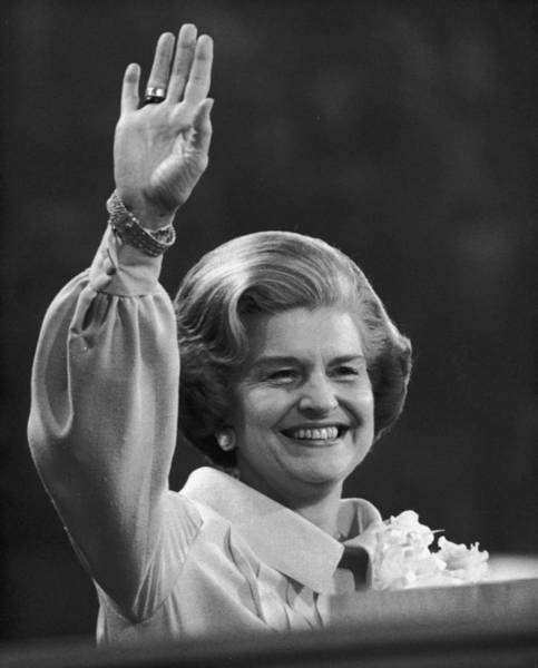 Republican Party Photograph - Betty Ford by Hulton Archive