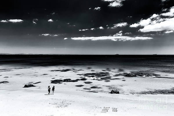 Photograph - Between Friends In Cascais by John Rizzuto