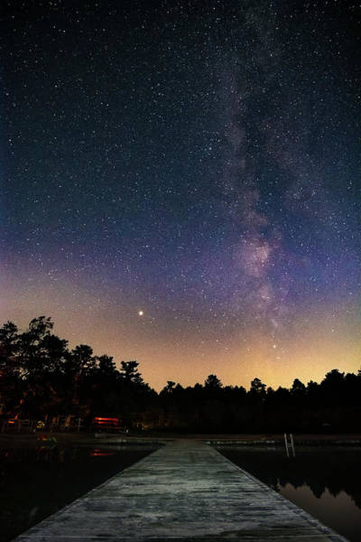 Cachalot Wall Art - Photograph - Between Mars And The Milky Way by Dennis Wilkinson