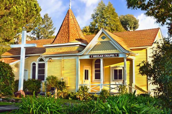 Photograph - Beulah Chapel, Home Of Peace, Oakland, California by Brian Tada