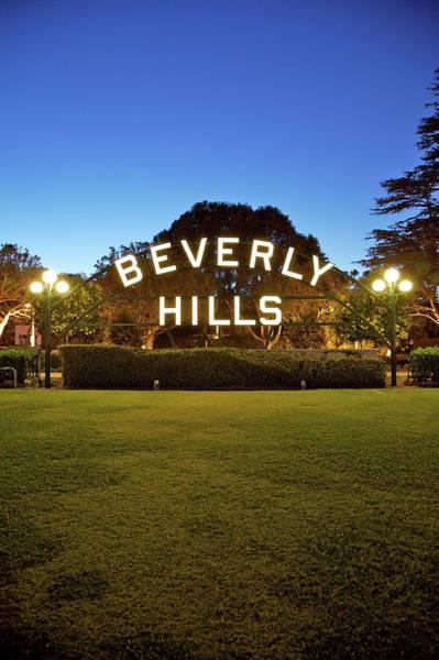 Home Interior Photograph - Beverly Hills Portrait by Ekash