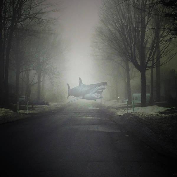 Digital Art - Beware The Sea Fog Bliss      Beware The Sea Fog by Mario MJ Perron