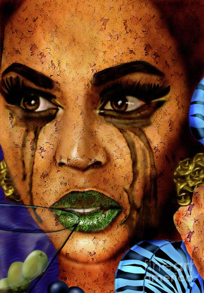 Painting - Beyonce Skin Shedding by Reggie Duffie