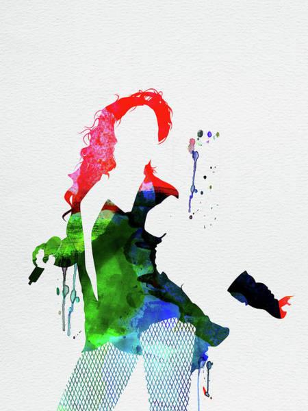 Jazz Mixed Media - Beyonce Watercolor by Naxart Studio