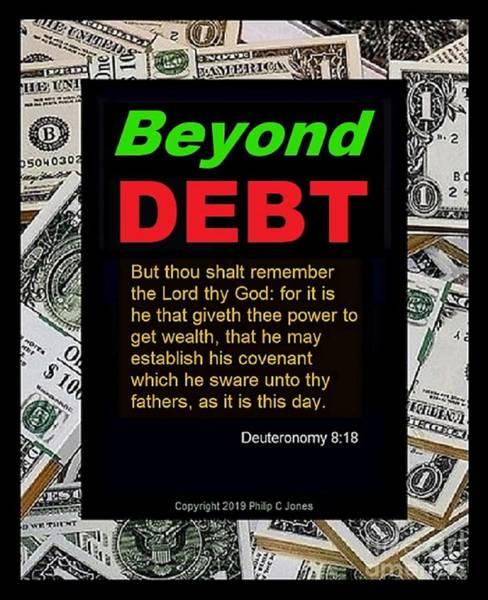 Beyond Debt Art Print