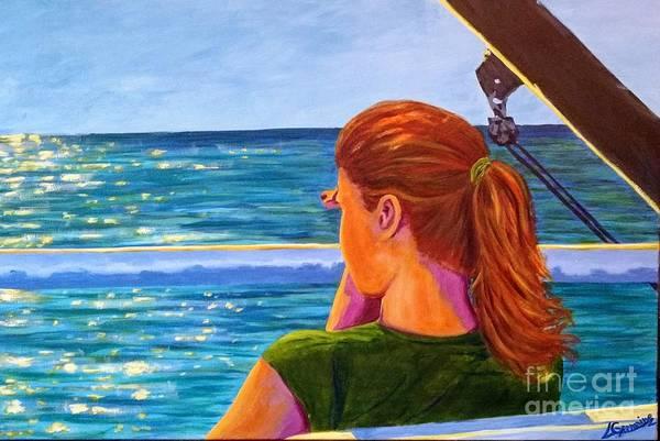 Painting - Beyond by Lorraine Germaine
