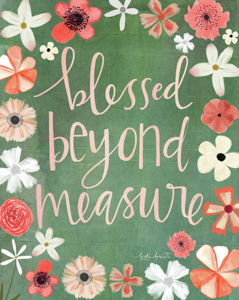 Wall Art - Mixed Media - Beyond Measure by Katie Doucette