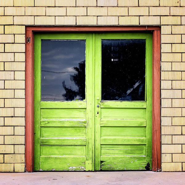 Wall Art - Photograph - Beyond The Green Door by Stephen Stookey