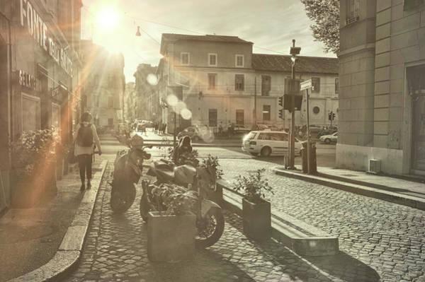 Photograph - Beyond The Tiber Trastevere by JAMART Photography