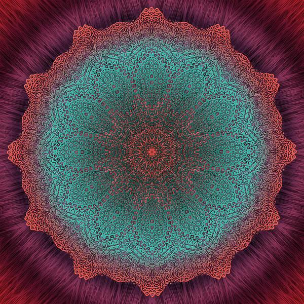 Digital Art - Beyond The Veil by Becky Titus
