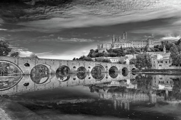 Christianity Photograph - Beziers Cathedral by Photograph By Paul Atkinson